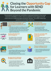 Closing the Opportunity Gap for Learners with SEND Beyond the Pandemic